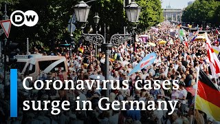 Berlin police try to shut down protest against coronavirus restrictions | DW News