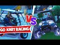 GO KART RACING in RIFTY's and MUSELK's MAP!! - Husband vs Wife - Fortnite Creative