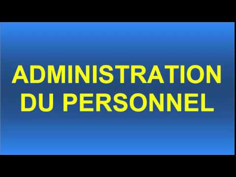 3-ADMINISTRATION DU PERSONNEL EXERCICE