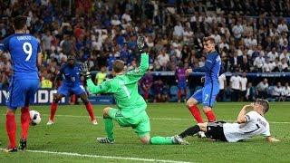 гЕРМАНИЯ ФРАНЦИЯ 0 : 2 ОБЗОР МАТЧА ПОЛУФИНАЛ ЕВРО 2016  GERMANY vs FRANCE 0 : 2
