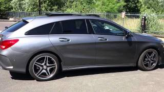 Mercedes-Benz CLA Shooting Brake 2015 Videos