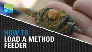 HOW TO Load a Method Feeder