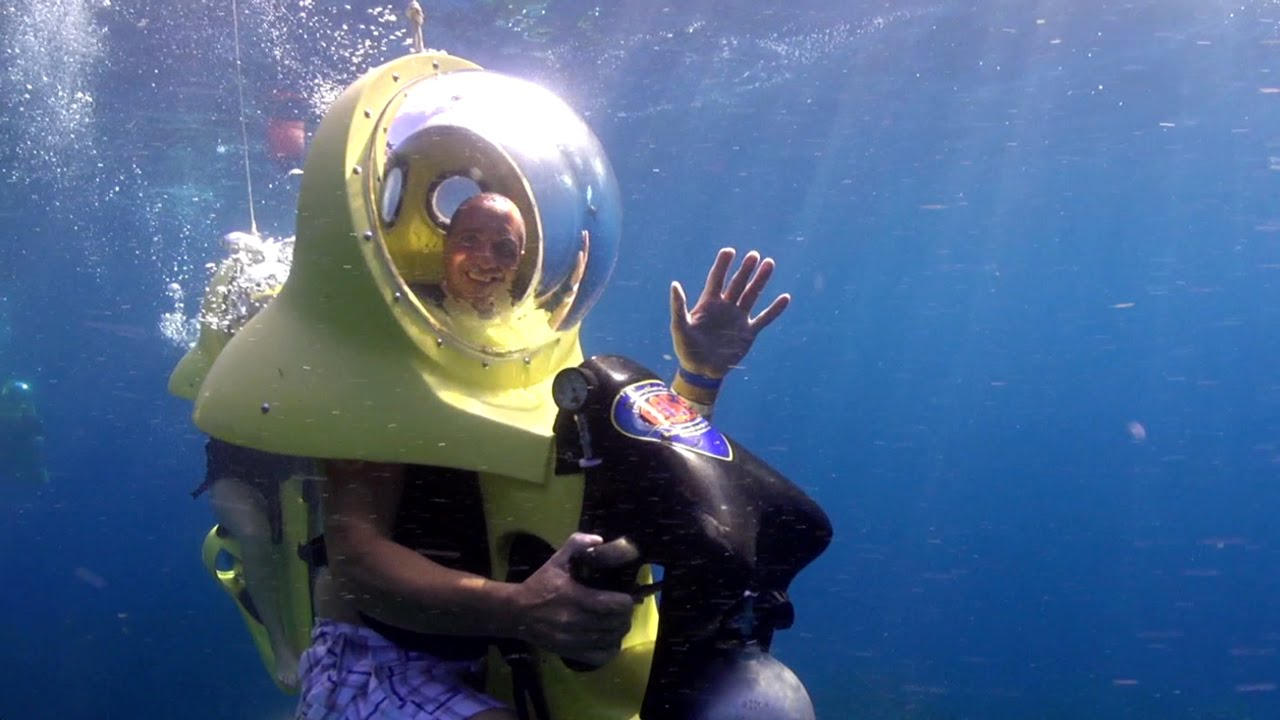 Boss underwater scooters roatan youtube for Dive scooter
