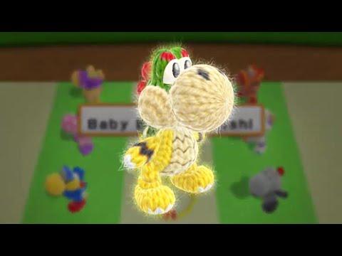 Yoshi's Woolly World - All Yoshi Costumes
