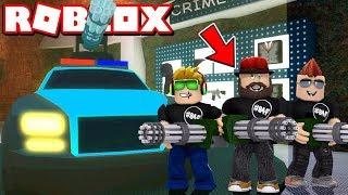 I AM THE BOSS in ROBLOX JAILBREAK!!! / BLOX4FUN SQUAD