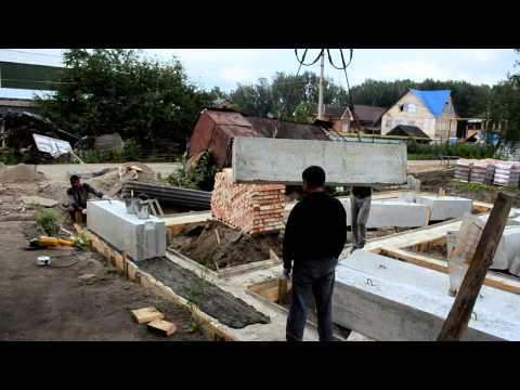 Строим таунхаус в Новосибирске ТСЖ Солнечный фундамент