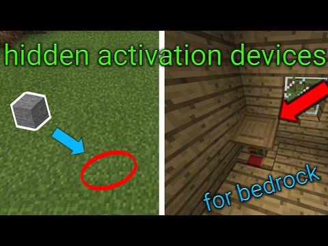 5 Hidden Activation Devices For Minecraft Bedrock Edition (switch , Mcpe , Xbox , Windows 10 )