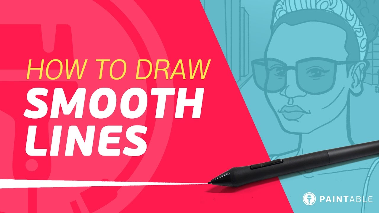 Drawing Smooth Lines List : How to draw perfect smooth lines on your tablet life