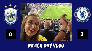 HUDDERSFIELD VS CHELSEA MATCH DAY VLOG!
