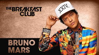 Bruno Mars Talks His Show At The Apollo Theater