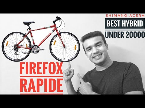 Firefox Rapide Cycle Review | Best Hybrid Cycle Under 20000 | Shimano Acera|Malayalam Buy Cycle 2020