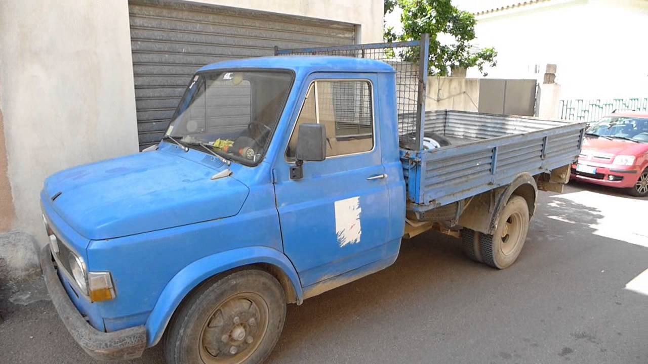 old FIAT pick up truck from the 1970ies ITALIA - YouTube
