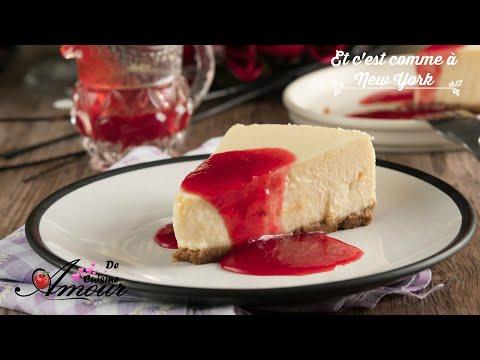 recette-du-cheesecake-classique-new-yorkais-au-coulis-de-fraises