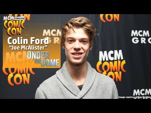 MCM Birmingham Comic Con: Colin Ford (Joe McAlister-Under The Dome) Panel