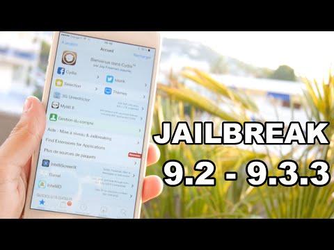 Comment Jailbreak sous iOS 9.2 - iOS 9.3.3 votre iPhone, iPod Touch ou iPad
