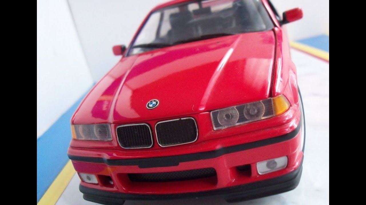 Bmw 318is E36 In Scale 1 18 By Ut Models Youtube