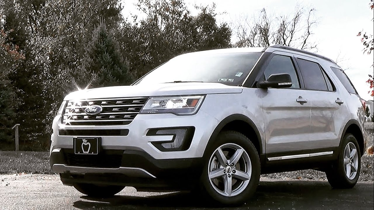 2017 Ford Explorer Review Youtube