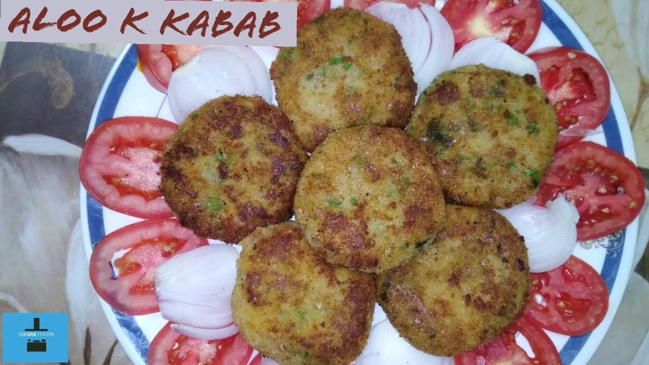 Crispy Aloo k kabab recipe by cuisine foods