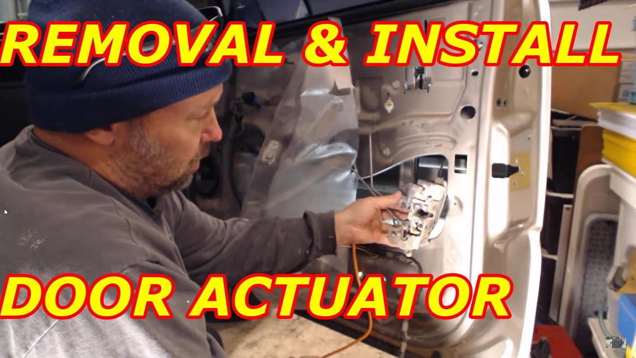 How To Replace A Chevy Tahoe Door Actuator Youtube