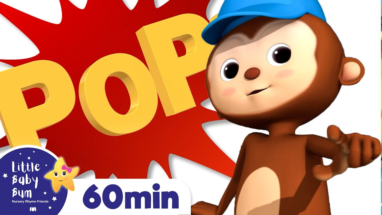 Pop Goes The Weasel Song +More Nursery Rhymes and Kids Songs | Little Baby Bum