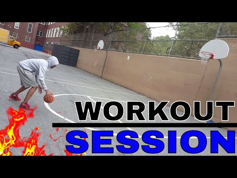 IRL WORKOUT(PART 2) Daily Basketball Routine