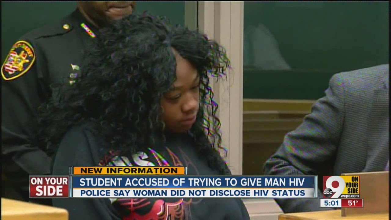 Student accused of trying to give man HIV