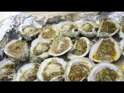 OYSTERS!! How I made Oyster Rockafella Recipe