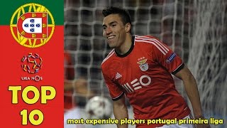 TOP 10 most expensive players Portugal Primeira Liga [2016]