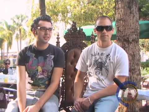 ITV Nightlife interviews Morelli & Rossi at WMC
