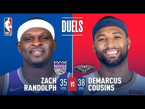 Big Man Duel Between Zach Randolph and DeMarcus Cousins   December 8, 2017