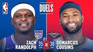 Big Man Duel Between Zach Randolph and DeMarcus Cousins | December 8, 2017