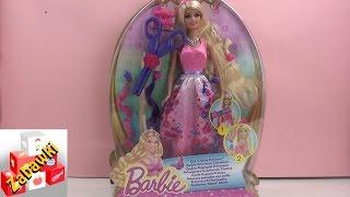 Barbie Magiczne Włosy -  włosy które można dowolnie obcinać i układać