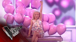 Lilia Performs 'Something's Got A Hold On Me': The Final | The Voice Kids UK 2018