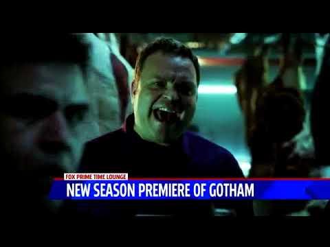 September 20, 2017  'Gotham' Star Drew Powell '98 Stops by Hometown TV Station