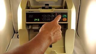 GLORY GFRS80V Currency Discriminator Sorter