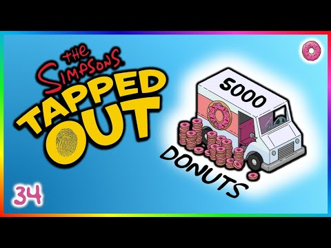 The Simpsons: Tapped Out - Free 5000 Donuts?!