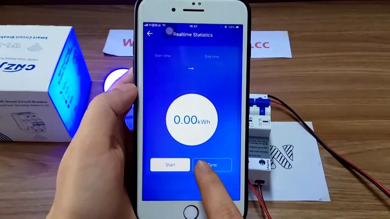 RUIMING Wifi 3P Circuit Breaker Wireless Remote Control IoT Switch APP Remote Control Support  Alexa Google home
