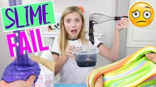 Attempting to Make VIRAL Slime! *FAIL* | Sasha Morga
