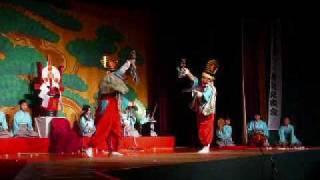 子ども歌舞伎「寿式三番叟」より「鈴の舞」