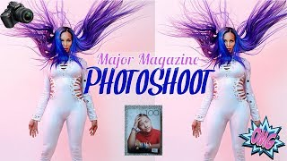 VLOG # 5 ( BTS  ) Major Magazine Photoshoot | Official Tati