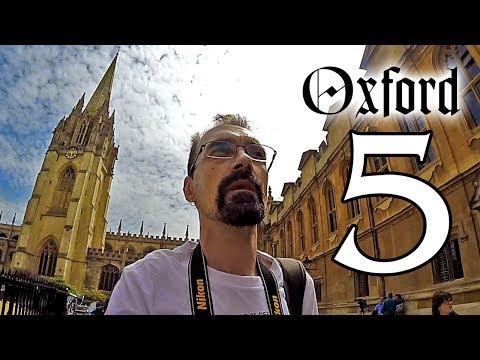 Oxford 5. rész – A Cornmarket street és a Bodleian könyvtár