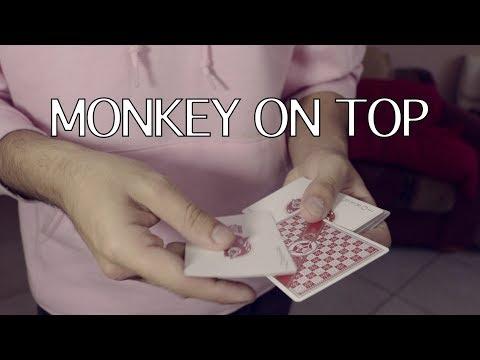 MONKEY ON TOP - Card Trick Tutorial ft. Pigcake