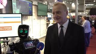 НАН Беларуси на Tibo 2019. Интервью Владимира Гусакова