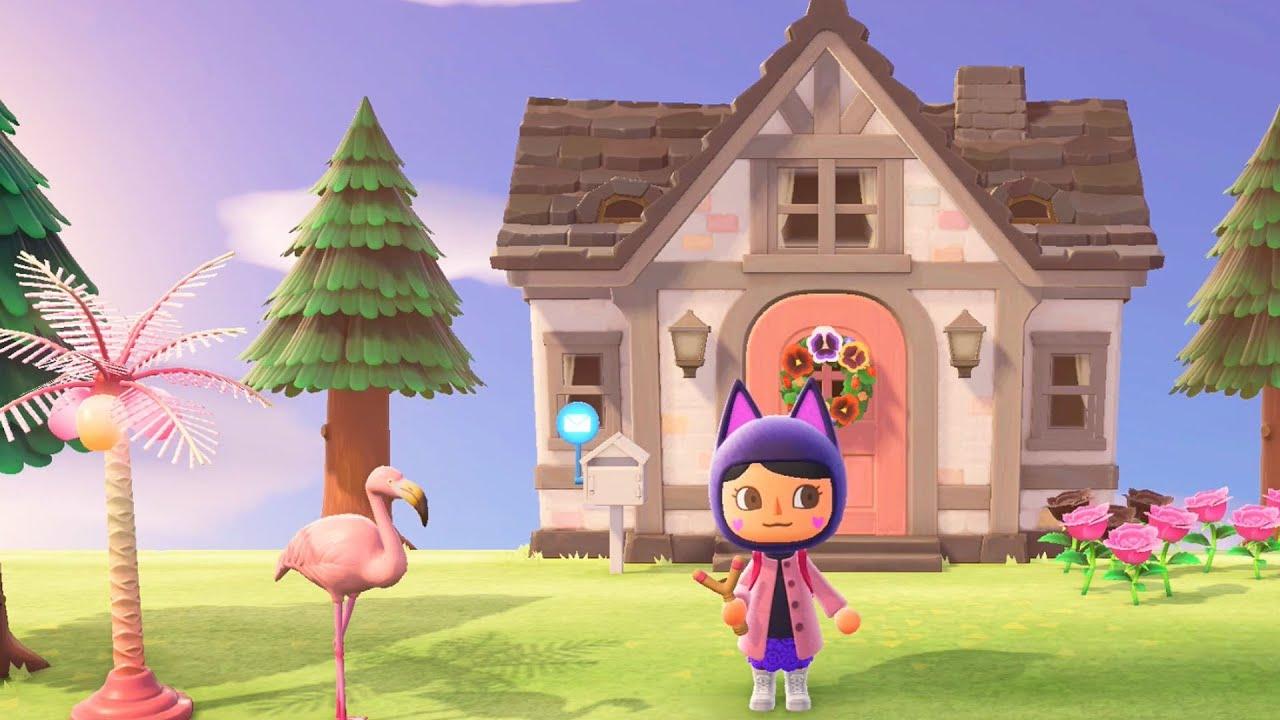 Customizing My House In Animal Crossing New Horizons Youtube