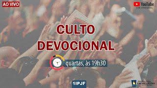 CULTO DEVOCIONAL - QUARTA 04/11/2020