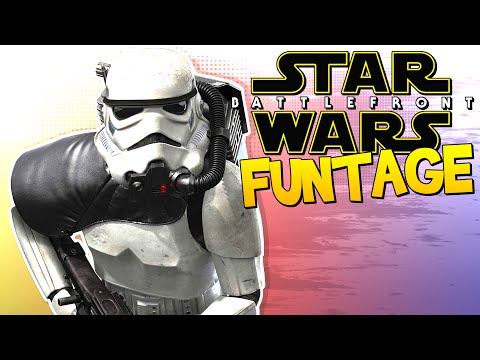 Star Wars Battlefront FUNTAGE! - INSANE Corpse Launching & More!