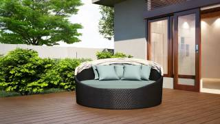 Wink Canopy Day Outdoor Day Bed By Harmonia Living