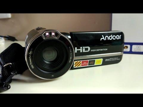 Andoer HDV-302S - китайская видеокамера с инфракрасным ночным видением. Обзор на некоторую дичь!