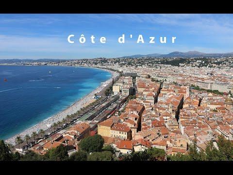TRAVEL VLOG: Côte D'Azur | ЛАЗУРНЫЙ БЕРЕГ