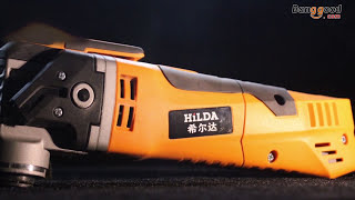HILDA 220V 280W 11000-21000rpm Trimming Machine Electric Oscillating Power Tool(, 2017-04-12T02:25:59.000Z)